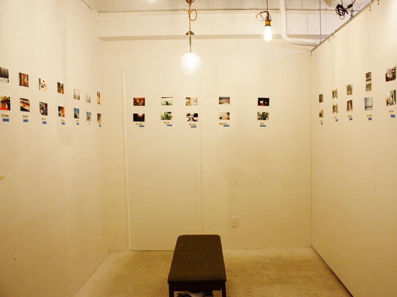 訪れたカフェwaano(ワアノ)ギャラリーの様子その1