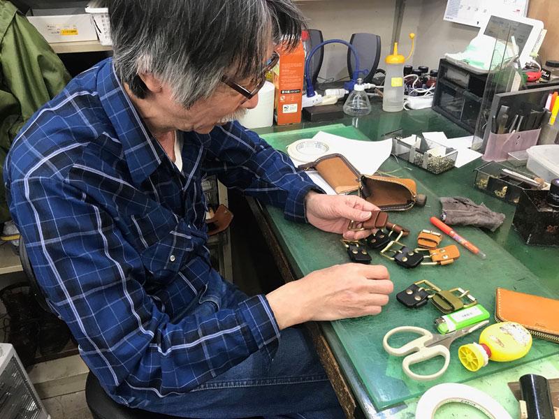 大ベテランの作り手:永崎