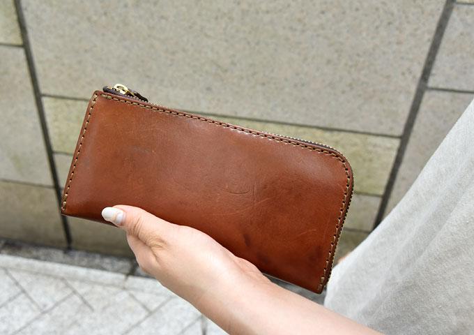 L字ファスナー長財布(WL-3) 愛用方法1