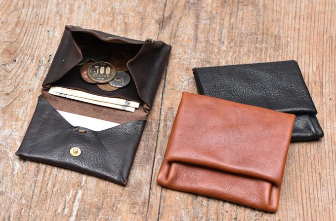 大きな小銭入れが特徴のミニ財布 小型財布(GS-54)