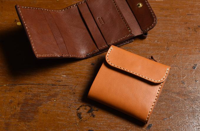 コンパクトな二つ折り財布 ライトウォレット(WS-1)