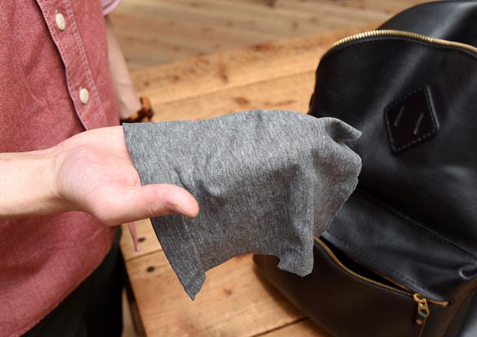 水拭きで使う布