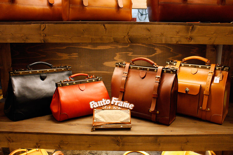 パンタシリーズのバッグたち