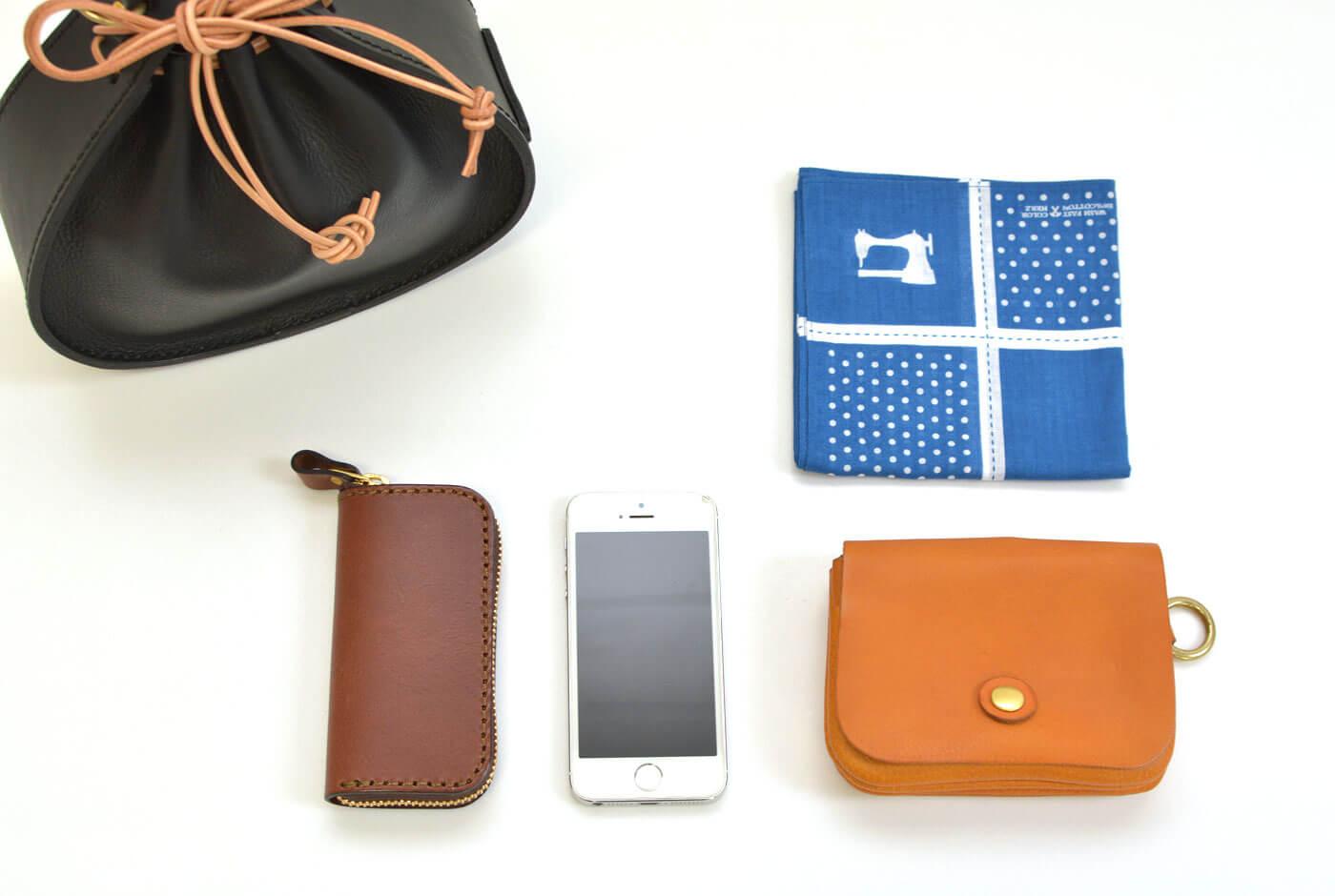 巾着鞄(Q-27) Sサイズ収納例