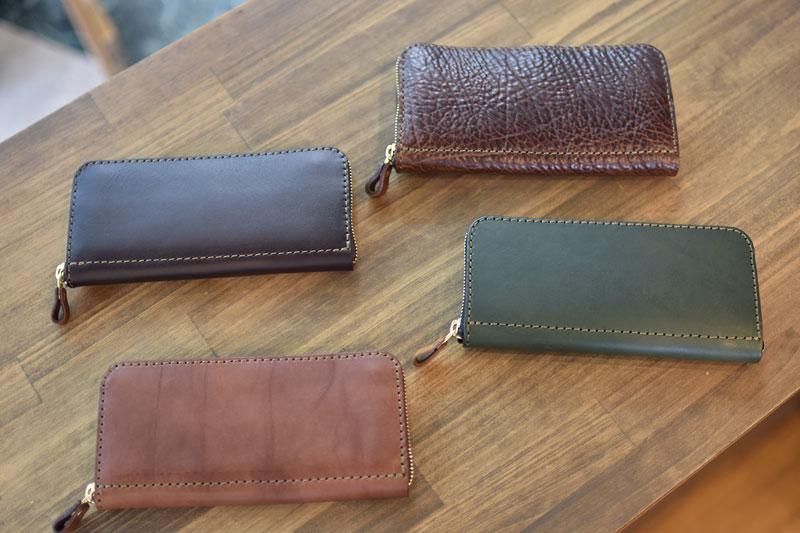 ファスナー長財布の特別仕様