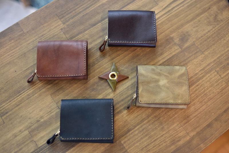 小型の二つ折り財布(WS-64)の特別仕様