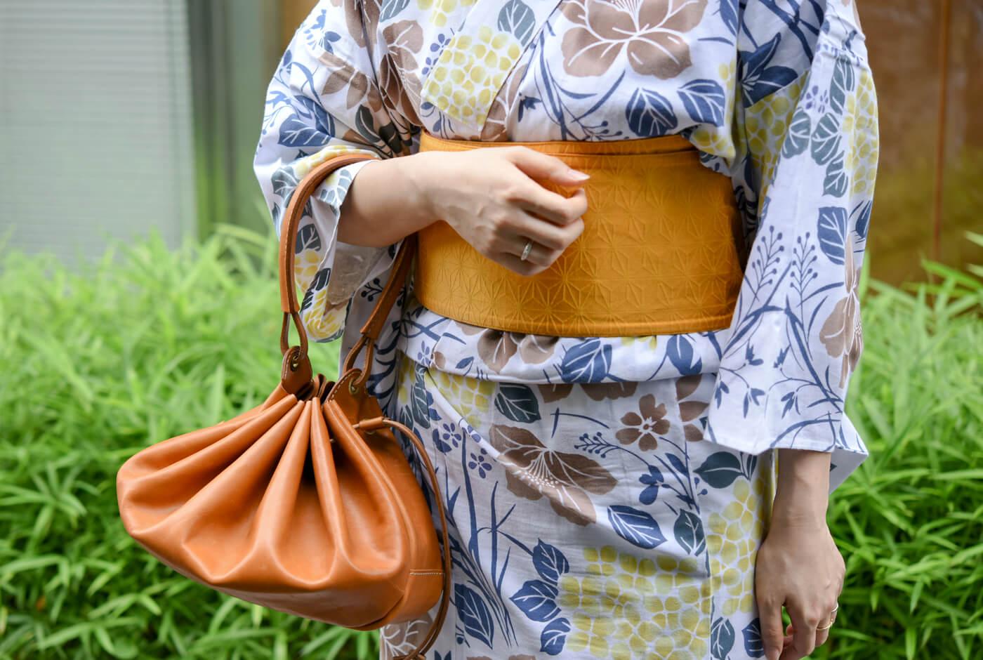 巾着型レディースバッグ(Q-7)