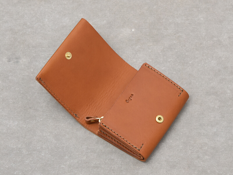 二つ折りミニ財布(GS-64) オープン
