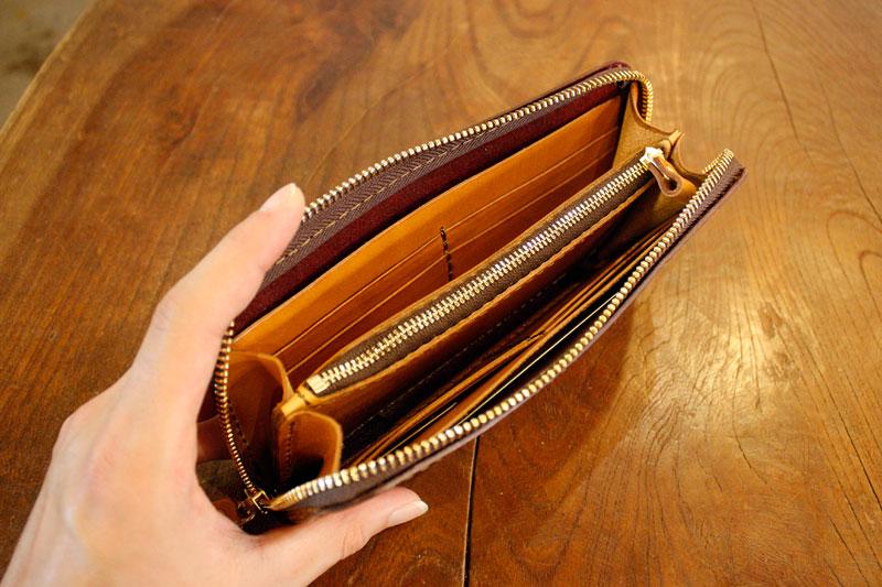 長財布の限定カラー オープン