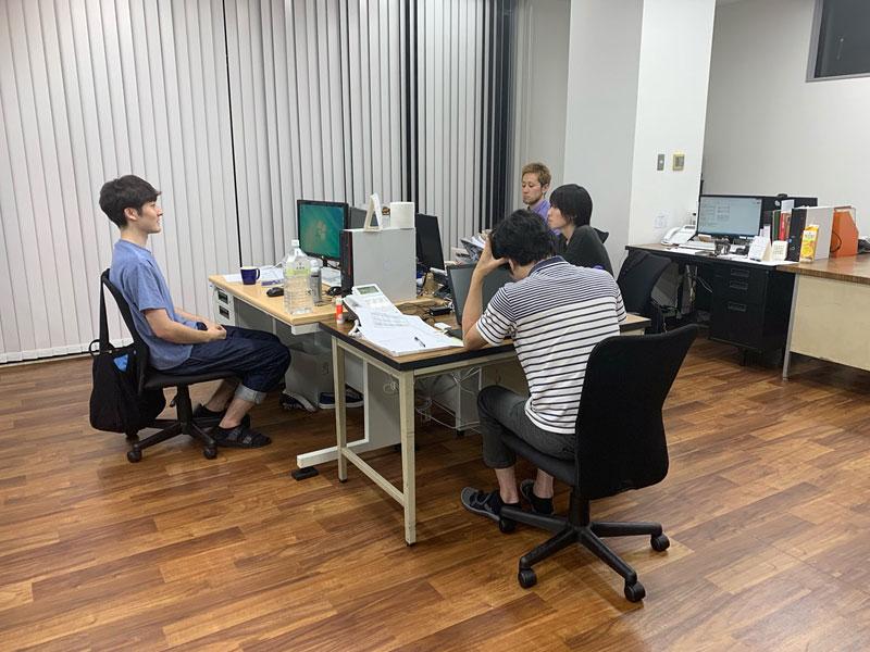 NET工房事務スペース