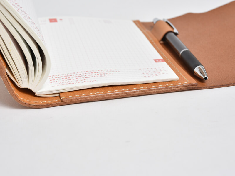 フラプト手帳カバー(KB-3) 袖