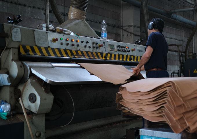 床漉き工程1