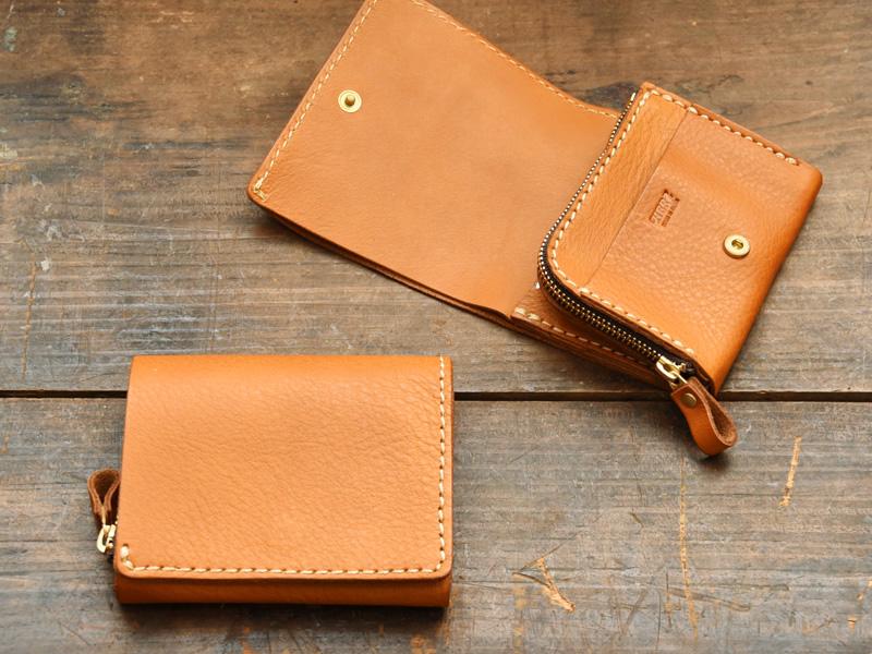 現品販売キャンペーン対象の小型の二つ折り財布(N-WS-64)