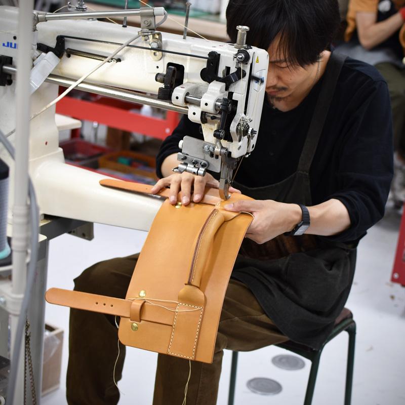 学生鞄風・2wayビジネスバッグ(BC-16)を作る滑川