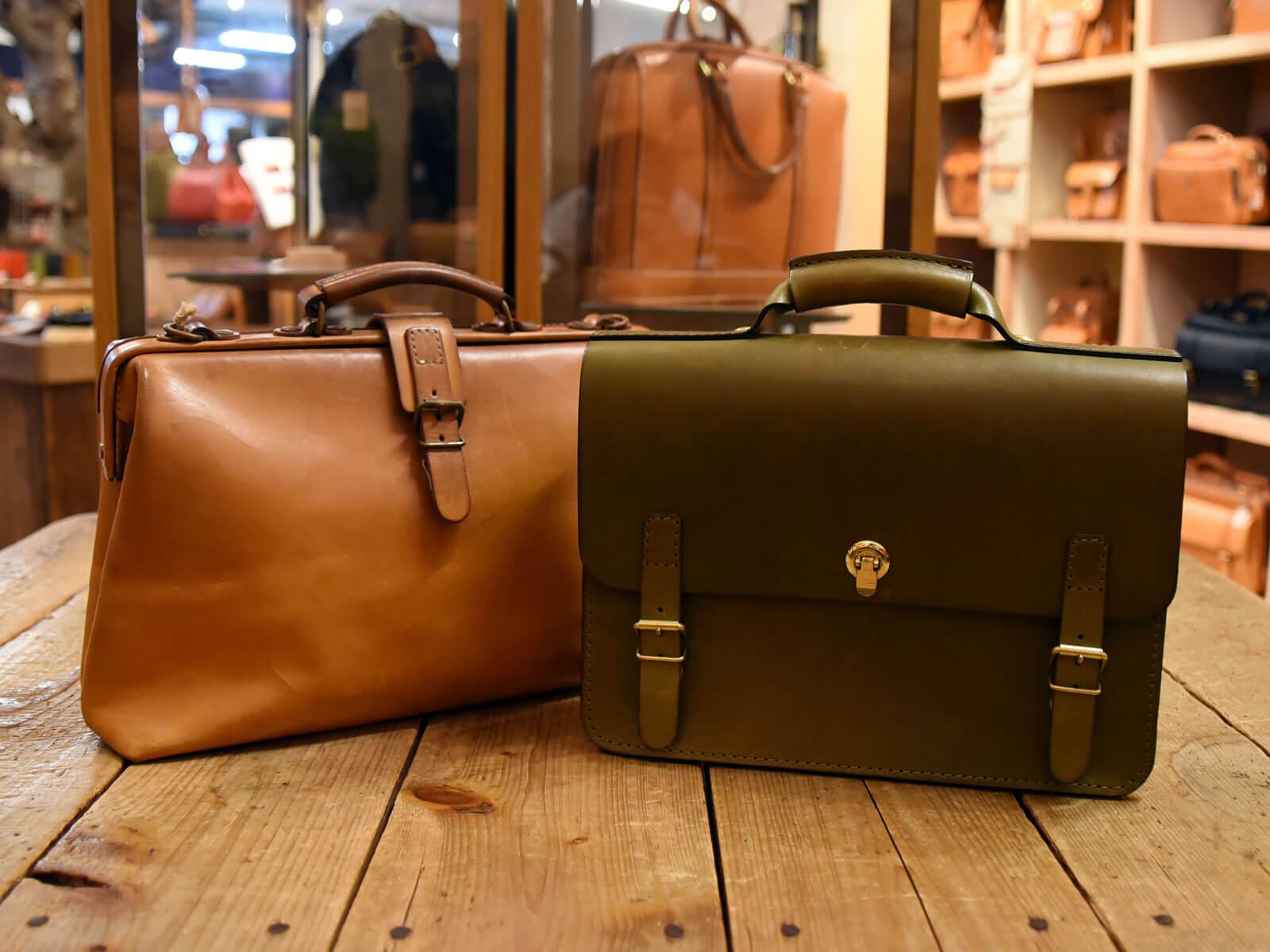 ニチガス新CM「営業物語」にHERZのバッグが使用されています