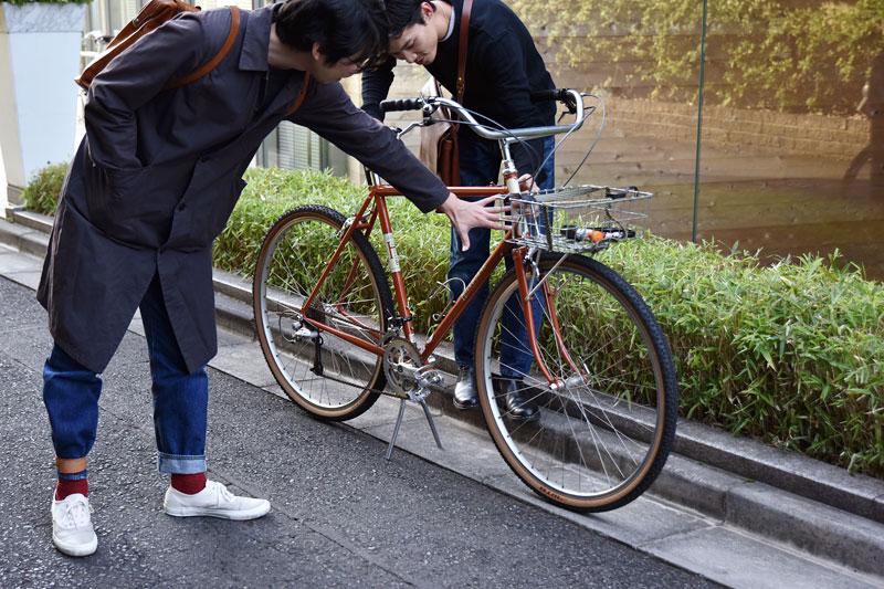 隆太郎の自転車チェック