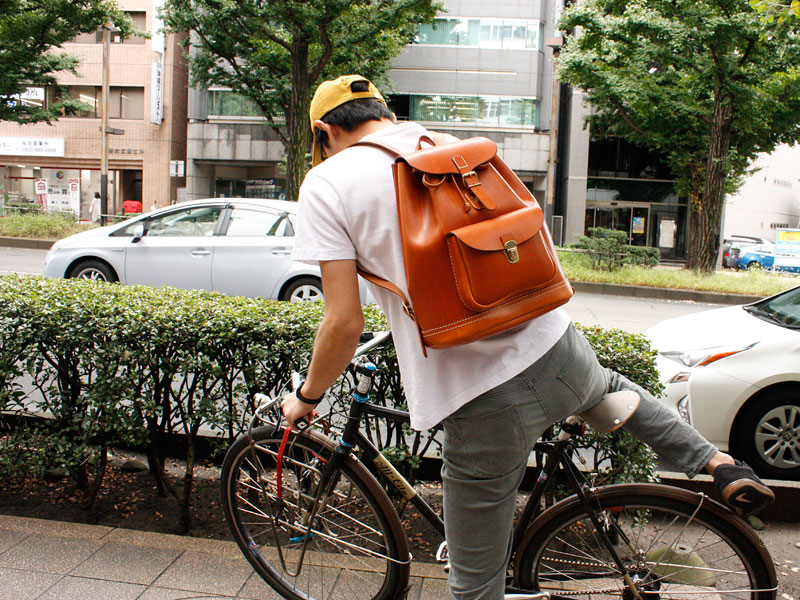 スタンダードなリュック(R-4) 自転車散歩