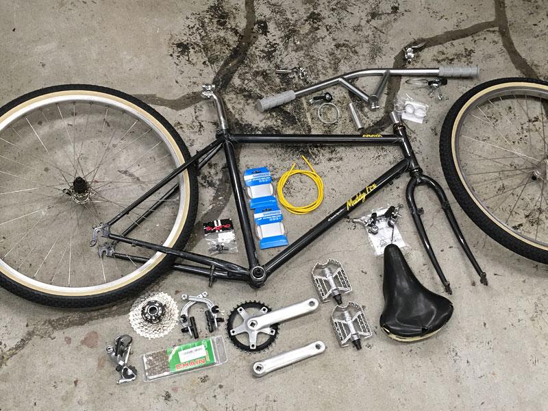 自転車制作1