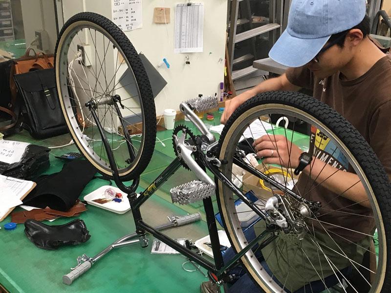 自転車制作2
