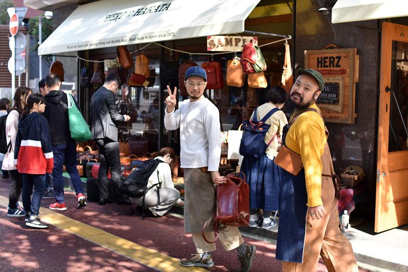 博多店の大嶋と本店の鈴木