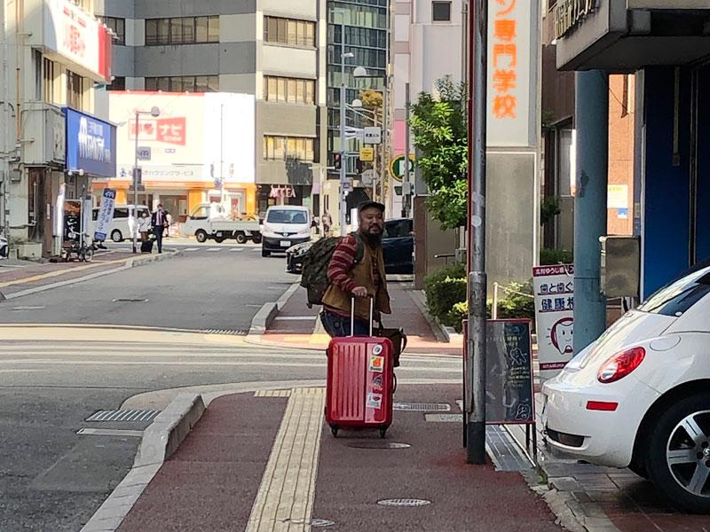東京へ帰る鈴木