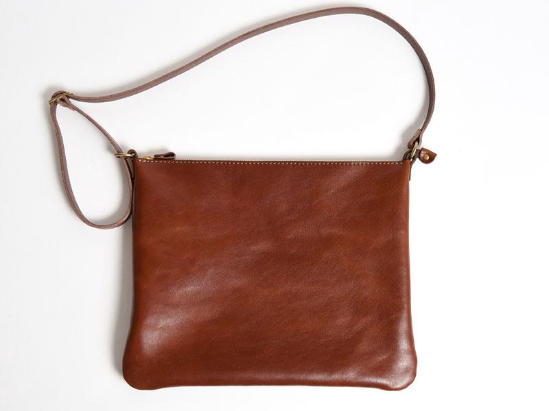 薄くて軽くて体にフィットする鞄がテーマ
