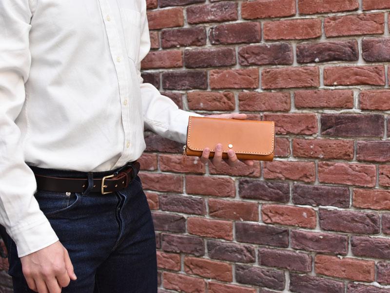 小銭が見やすい長財布(WL-1)