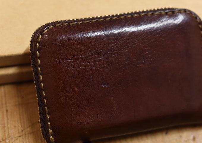 コンパクト財布の気になる変化2