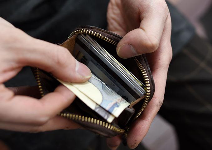 コンパクト財布(KK-59) 愛用方法4