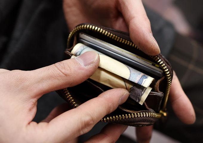 コンパクト財布(KK-59) 愛用方法6