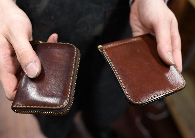 コンパクト財布とマネークリップ