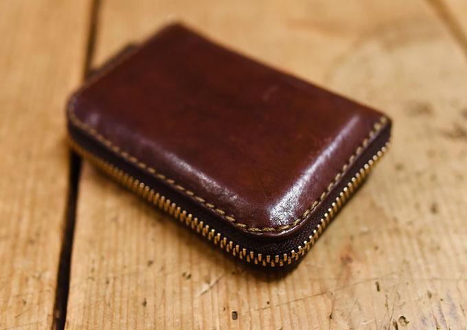 コンパクト財布の気になる変化1