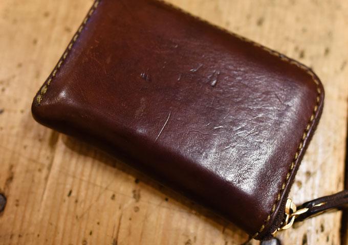 コンパクト財布の気になる変化3