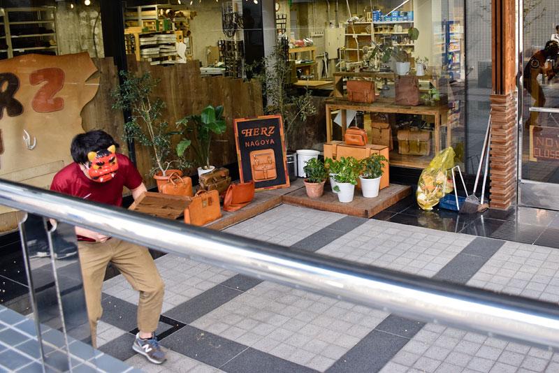 名古屋店節分の豆まき3