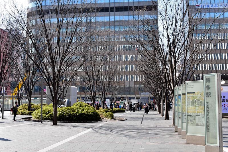 博多口駅前広場
