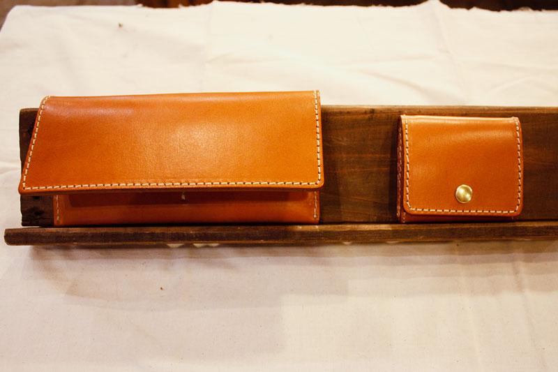 シンプル小銭入れ(KK-23) 長財布との比較