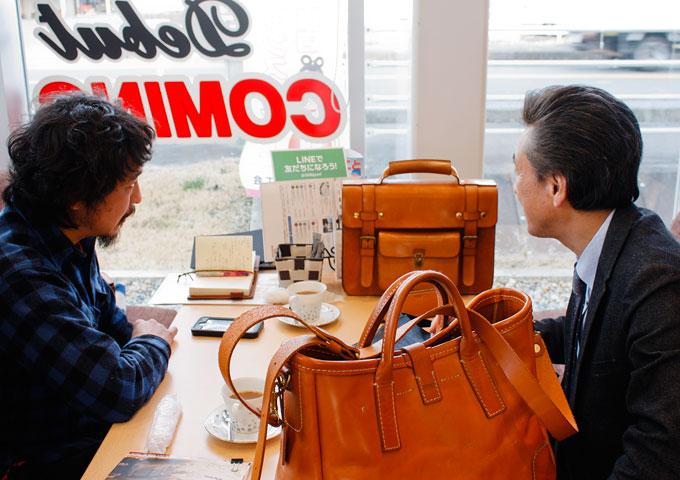 梅田さん愛用のバッグたち