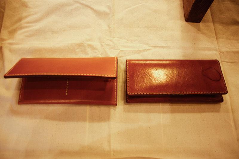 長財布(WL-17) エイジング比較