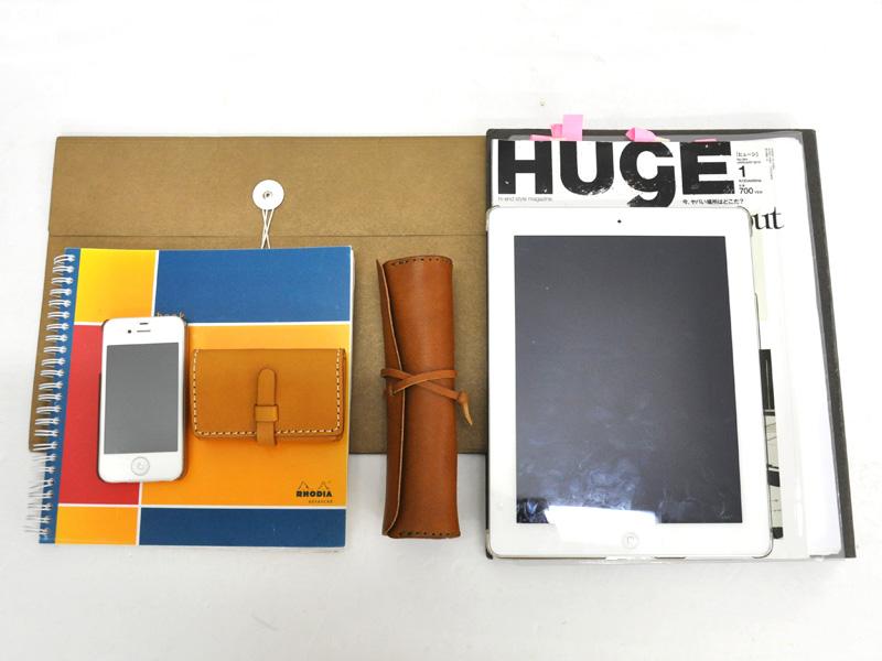 学生鞄風・2wayビジネスバッグ(BC-16) 収納例