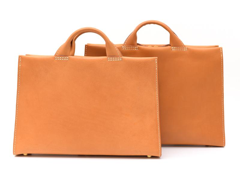 あおりポケット二本手ビジネスバッグ(BW-104) サイズ展開