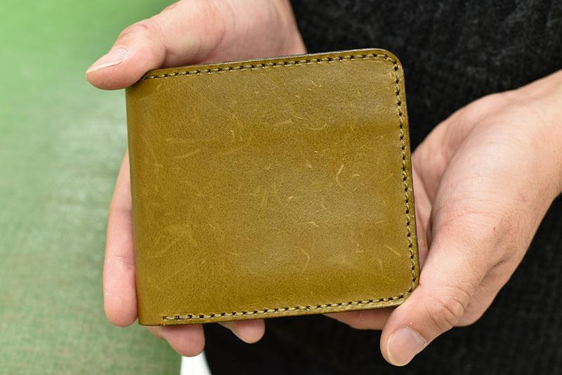 たくさんキズがついてしまった財布