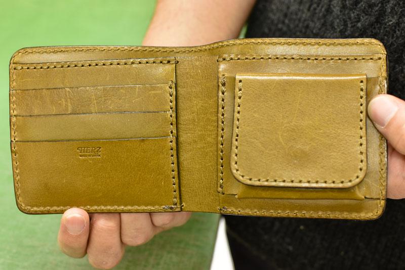 二つ折り財布(WS-8) 見開き