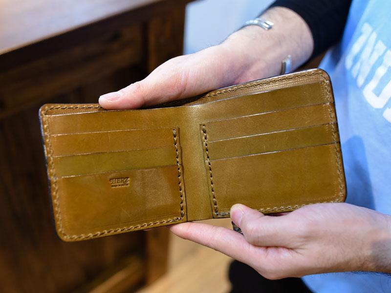 二つ折り財布(WS-7) カード入れ