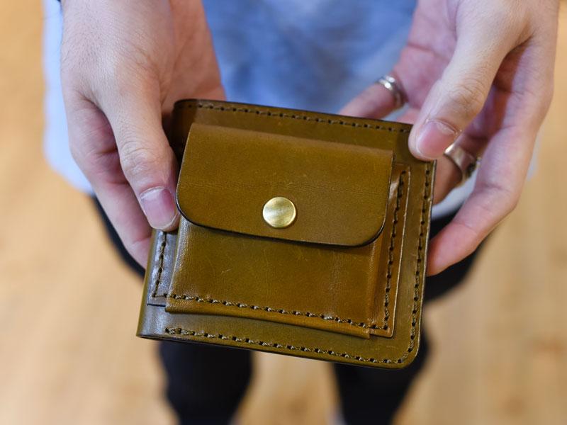 二つ折り財布(WS-7)
