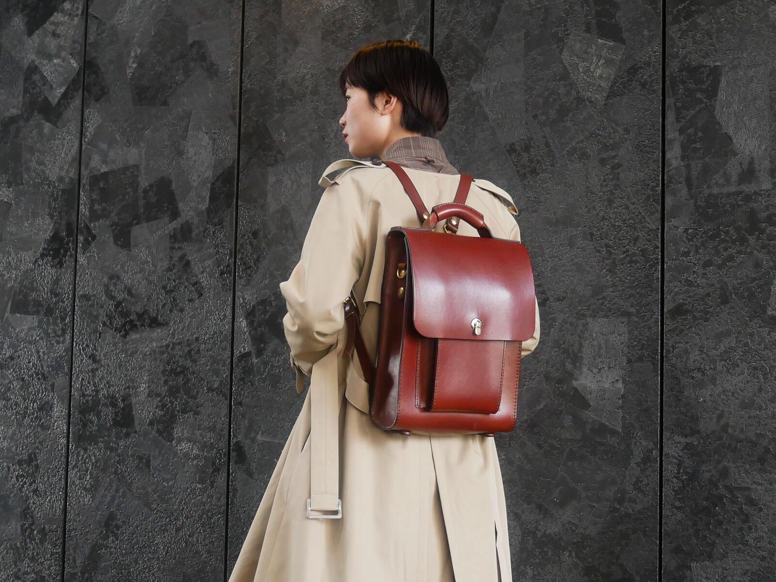大阪店スタッフ:大西愛用「3way縦型バッグ」