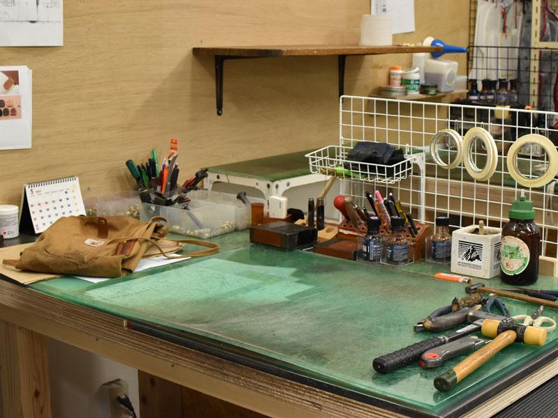 作り手の作業台
