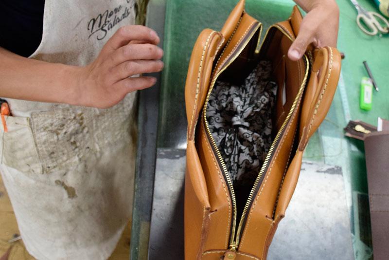あおりポケット二本手ビジネスバッグ(BW-104) お弁当収納