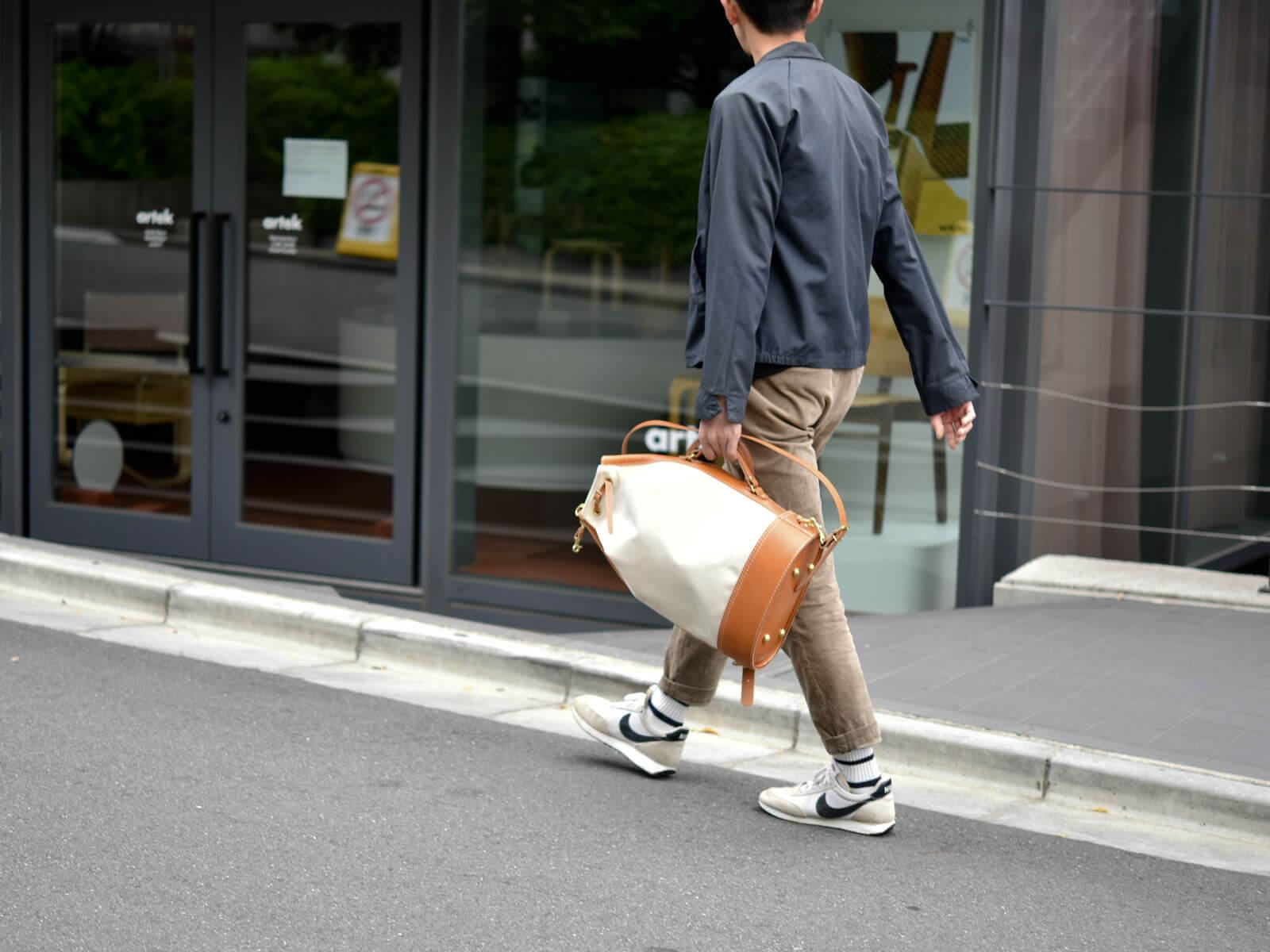 キナリ×キャメル2020<NE-RUCK1 本店:村松>