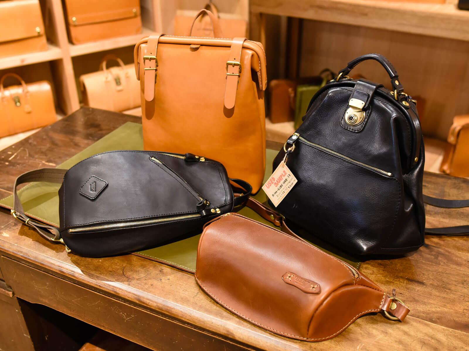 ヘルツ本店より、お電話でのご案内とロングセラーバッグのご紹介