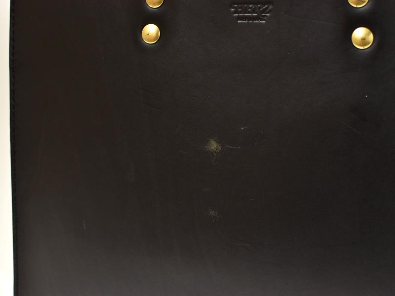 二本手ビジネスバッグ(BW-111)の傷の様子2